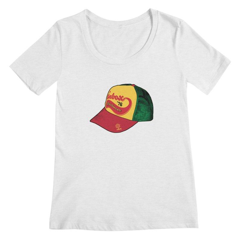 inbox rasta mother trucker Women's Scoopneck by inboxstreetwear's Shop