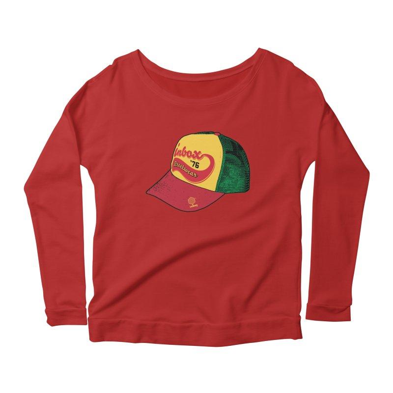 inbox rasta mother trucker Women's Longsleeve Scoopneck  by inboxstreetwear's Shop
