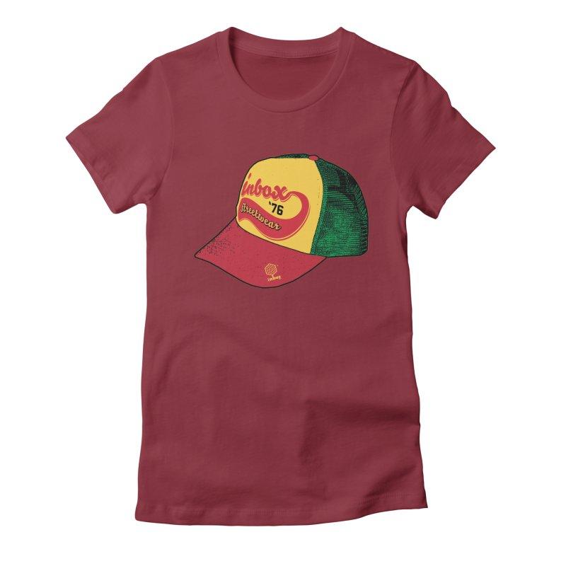 inbox rasta mother trucker Women's Fitted T-Shirt by inboxstreetwear's Shop