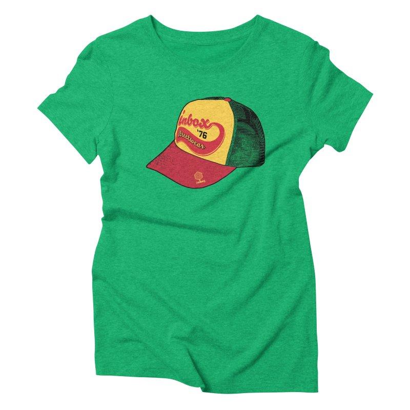 inbox rasta mother trucker Women's Triblend T-Shirt by inboxstreetwear's Shop