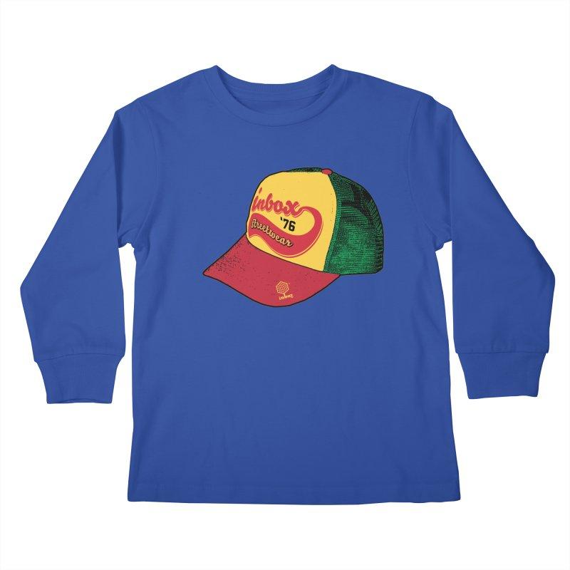 inbox rasta mother trucker Kids Longsleeve T-Shirt by inboxstreetwear's Shop