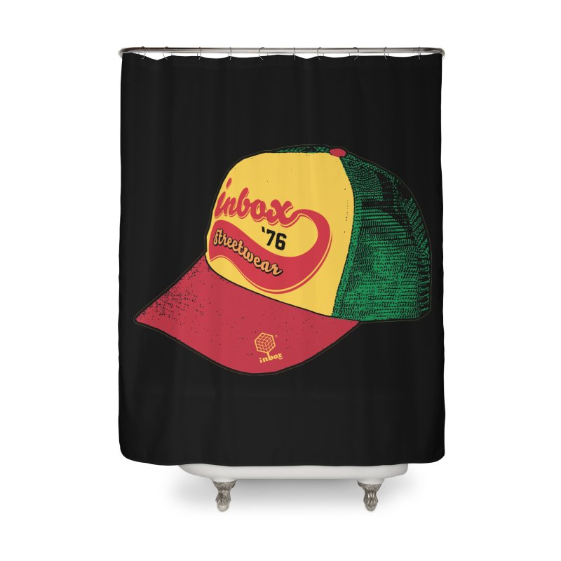 inbox rasta mother trucker Home Shower Curtain by inboxstreetwear's Shop
