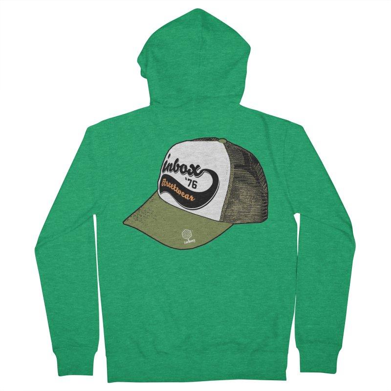 inbox army mother trucker Men's Zip-Up Hoody by inboxstreetwear's Shop