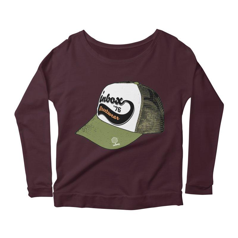 inbox army mother trucker Women's Longsleeve Scoopneck  by inboxstreetwear's Shop