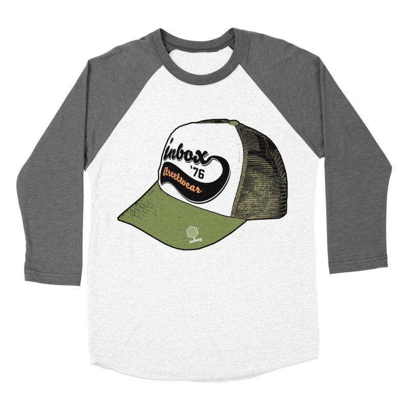 inbox army mother trucker Men's Baseball Triblend T-Shirt by inboxstreetwear's Shop