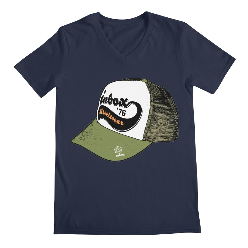 inbox army mother trucker Men's V-Neck by inboxstreetwear's Shop