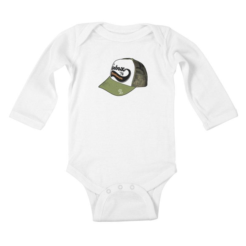 inbox army mother trucker Kids Baby Longsleeve Bodysuit by inboxstreetwear's Shop
