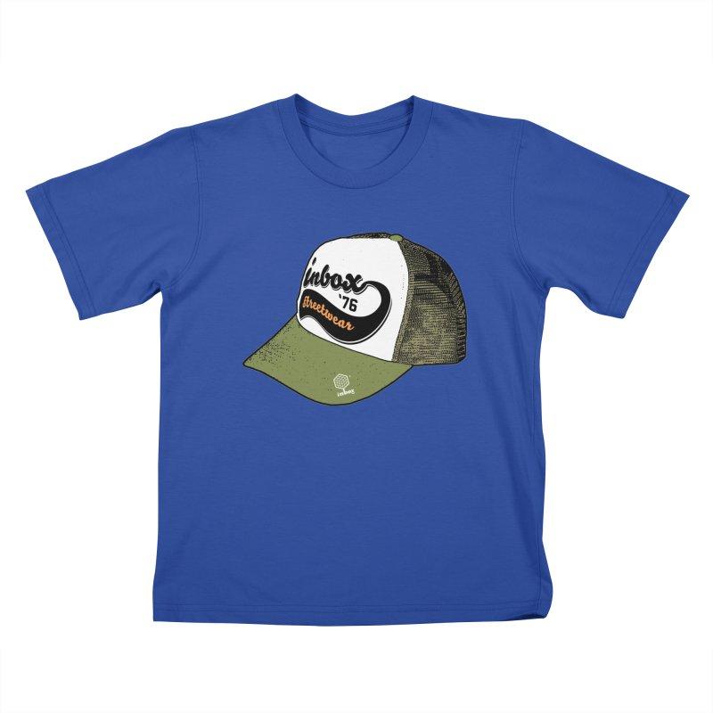inbox army mother trucker Kids T-Shirt by inboxstreetwear's Shop