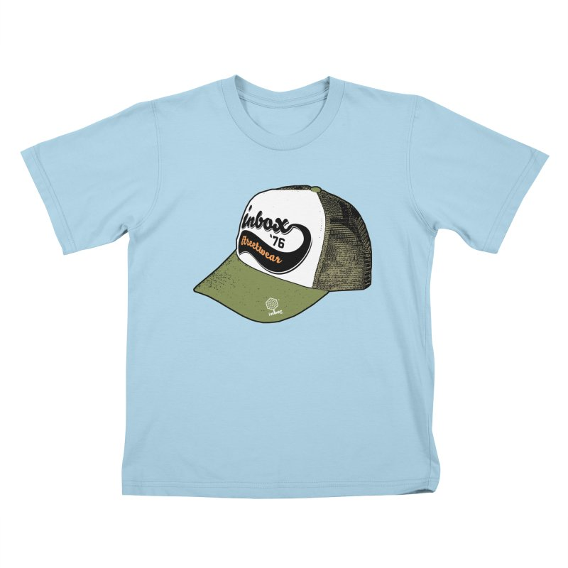 inbox army mother trucker Kids T-Shirt by inboxstreetwear's Shop
