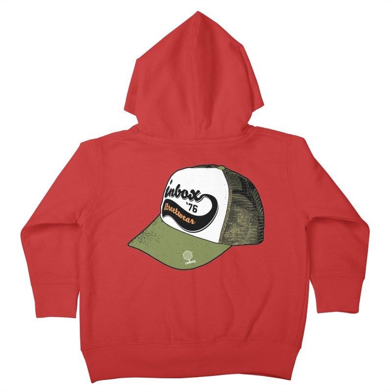inbox army mother trucker Kids Toddler Zip-Up Hoody by inboxstreetwear's Shop