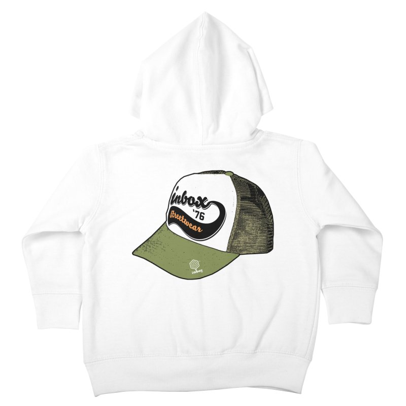inbox army mother trucker Kids Toddler Zip-Up Hoody by inboxstreetwear's Shop