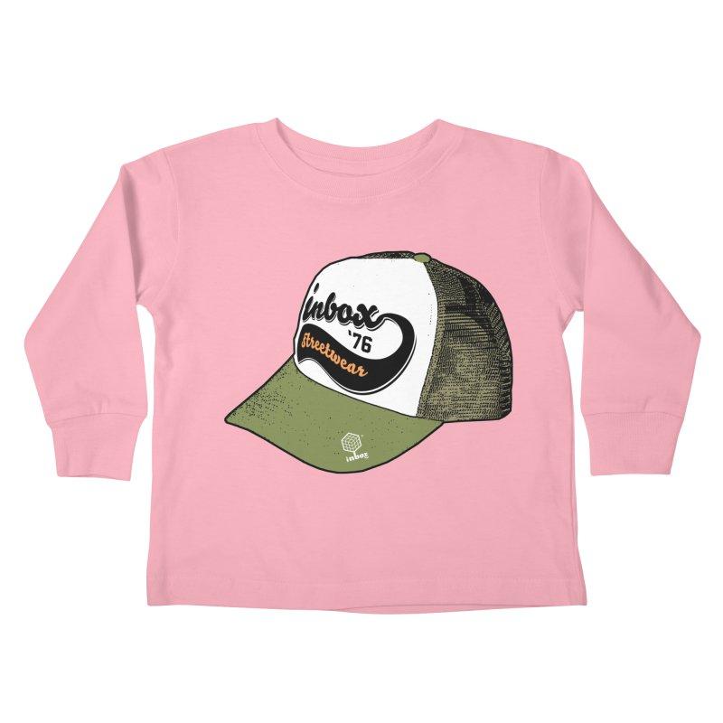 inbox army mother trucker Kids Toddler Longsleeve T-Shirt by inboxstreetwear's Shop