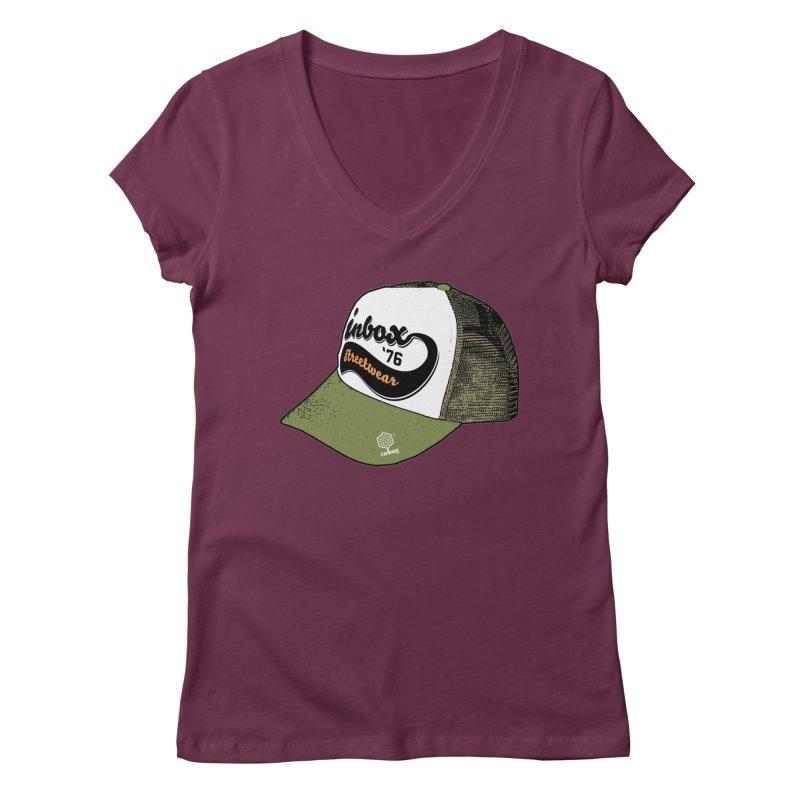 inbox army mother trucker Women's V-Neck by inboxstreetwear's Shop