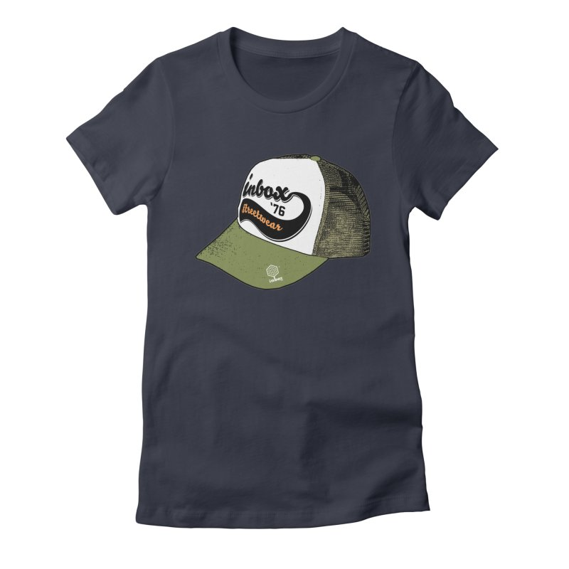 inbox army mother trucker Women's Fitted T-Shirt by inboxstreetwear's Shop