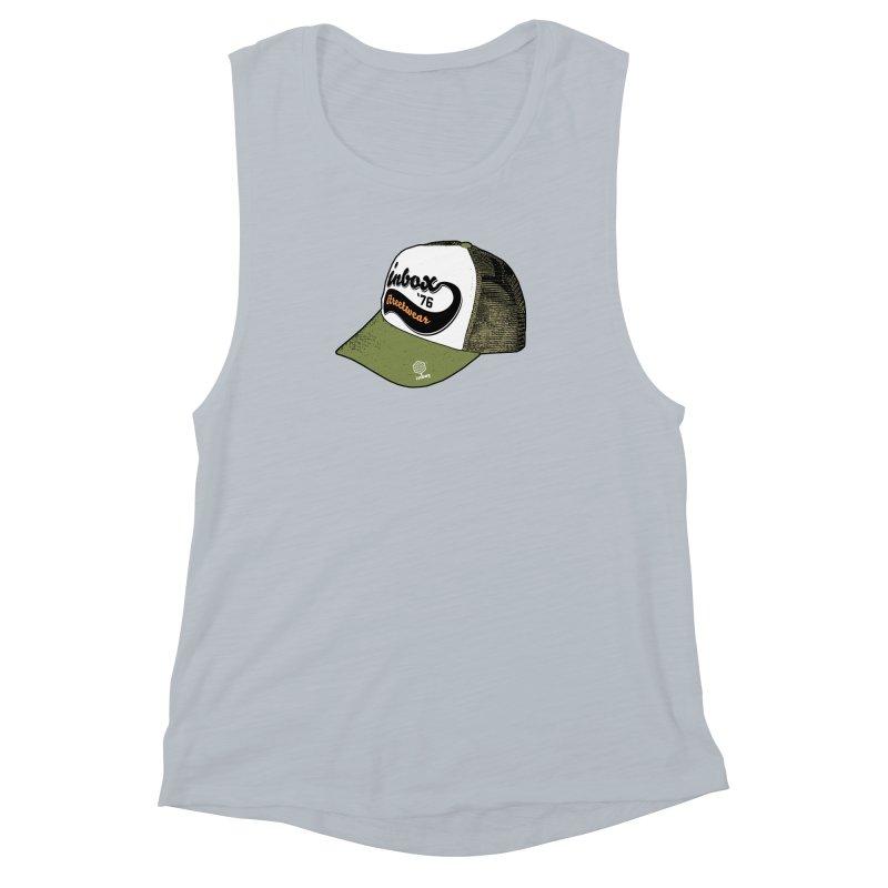 inbox army mother trucker Women's Muscle Tank by inboxstreetwear's Shop