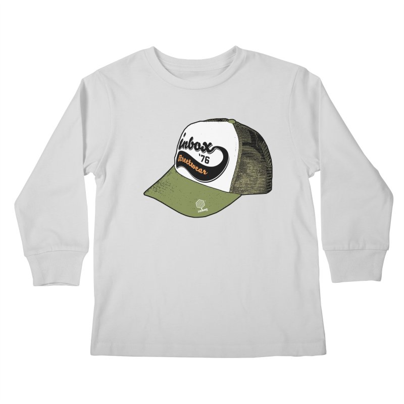 inbox army mother trucker Kids Longsleeve T-Shirt by inboxstreetwear's Shop