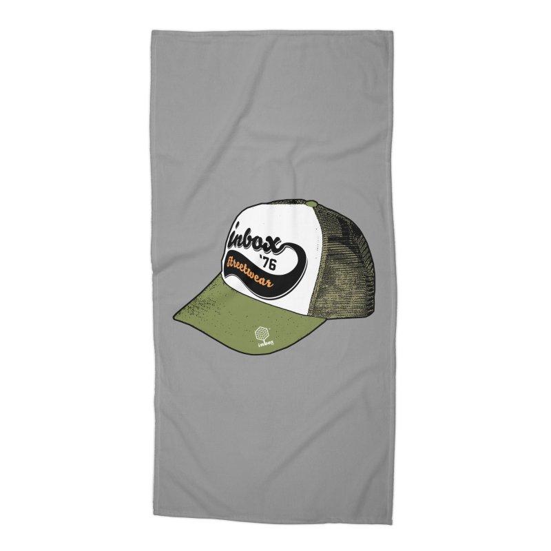 inbox army mother trucker Accessories Beach Towel by inboxstreetwear's Shop