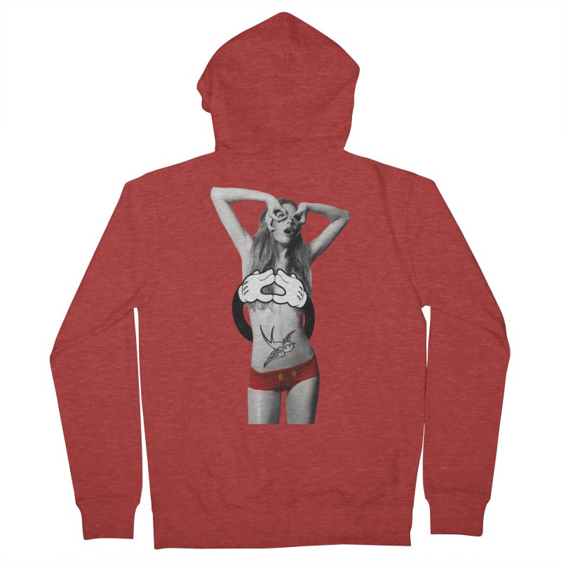 Rather go naked for Threadless Men's Zip-Up Hoody by inboxstreetwear's Shop