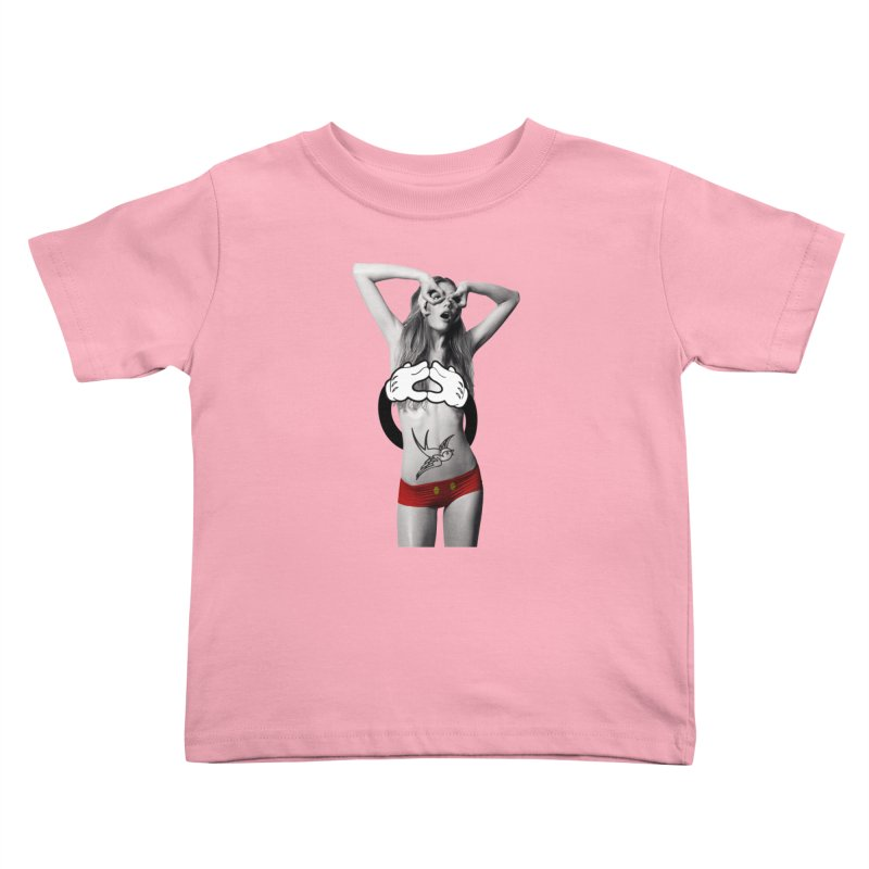 Rather go naked for Threadless Kids Toddler T-Shirt by inboxstreetwear's Shop