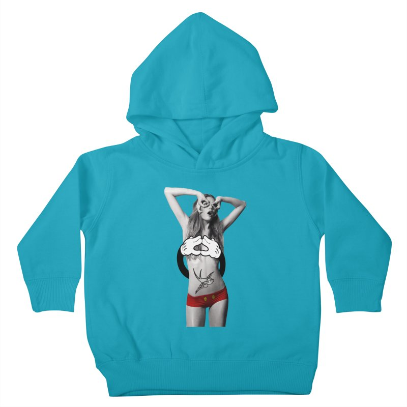 Rather go naked for Threadless Kids Toddler Pullover Hoody by inboxstreetwear's Shop