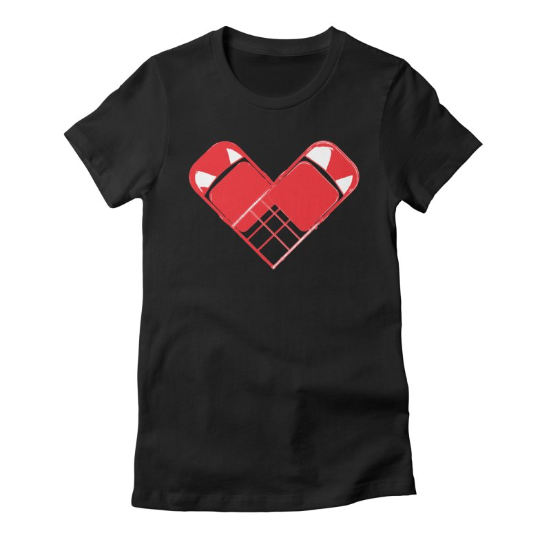 CHAIRish Women's Fitted T-Shirt by inbrightestday's Artist Shop