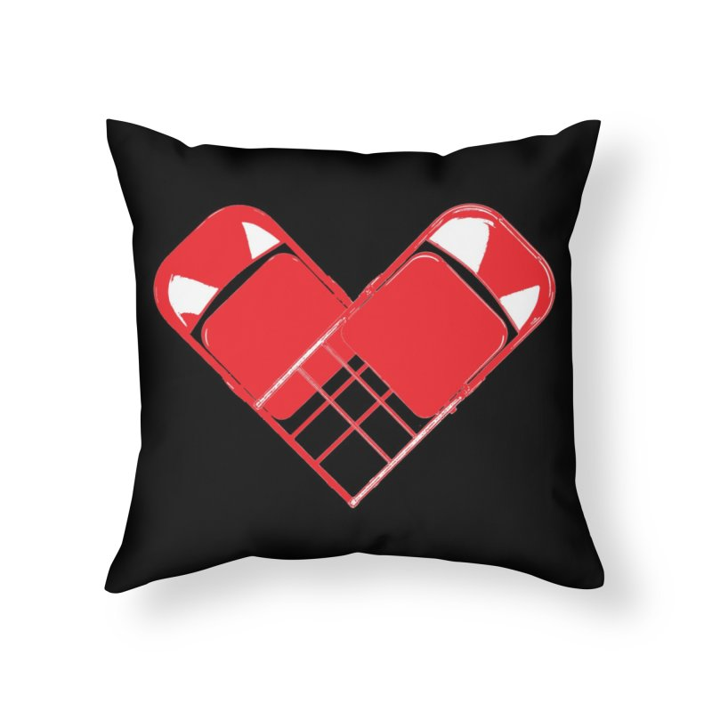 CHAIRish Home Throw Pillow by inbrightestday's Artist Shop