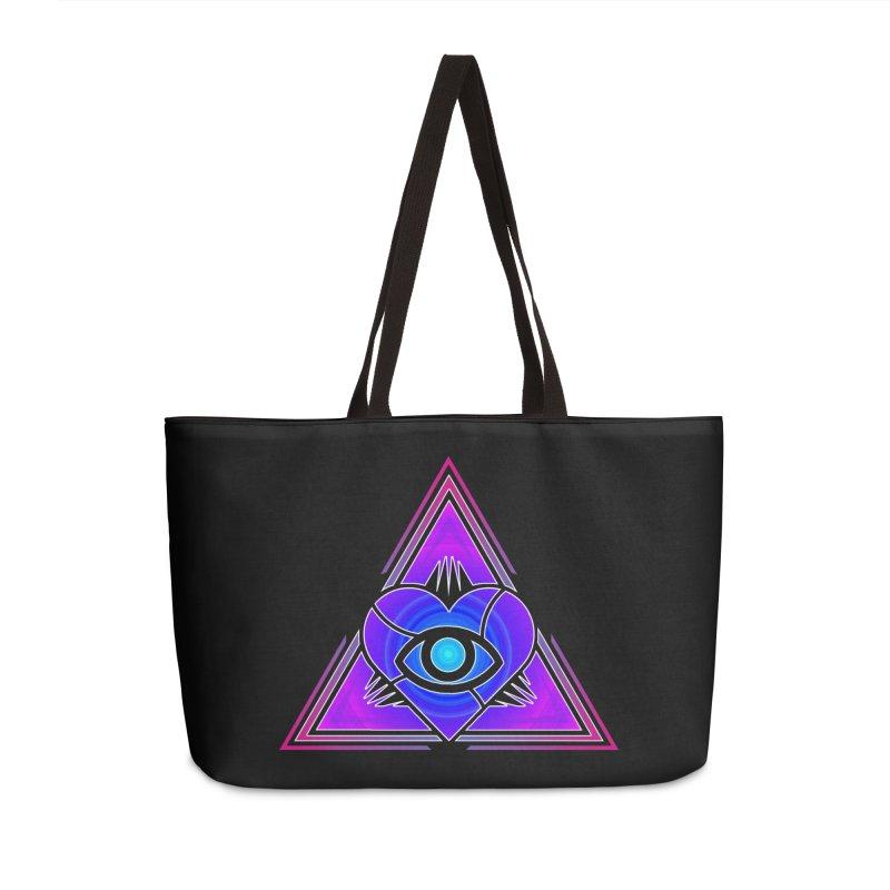 Illoveinati Accessories Weekender Bag Bag by inbrightestday's Artist Shop