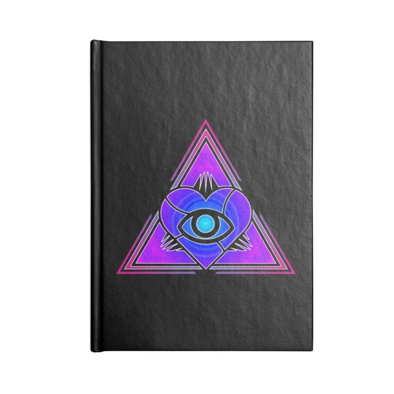 Illoveinati Accessories Blank Journal Notebook by inbrightestday's Artist Shop
