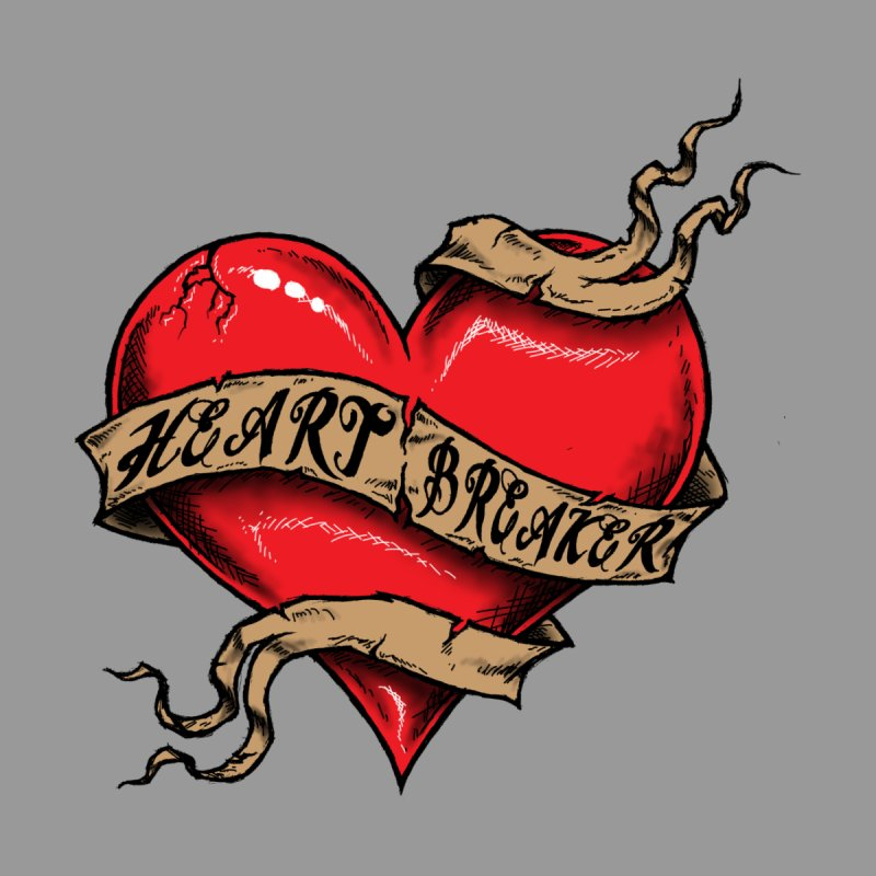 Heart Breaker Women's Racerback Tank by inbrightestday's Artist Shop