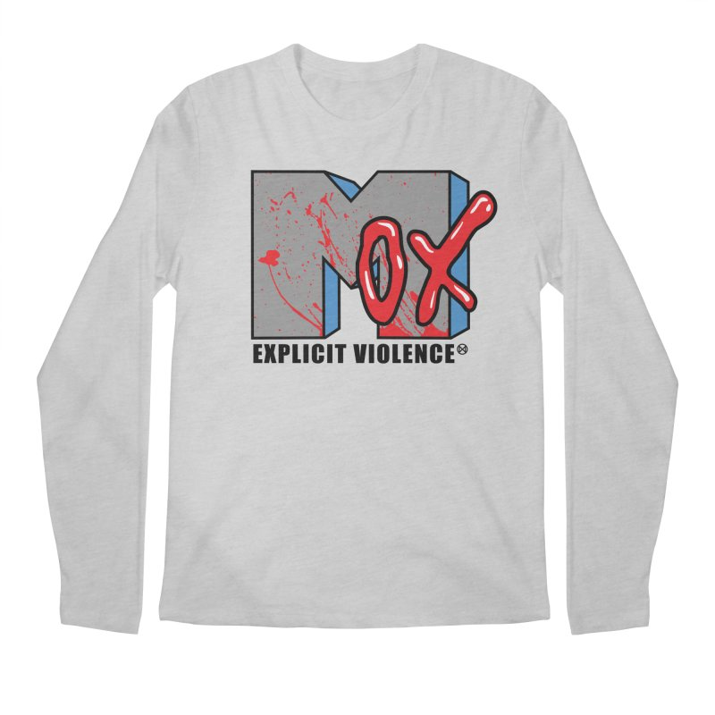 Violent Television Men's Regular Longsleeve T-Shirt by inbrightestday's Artist Shop
