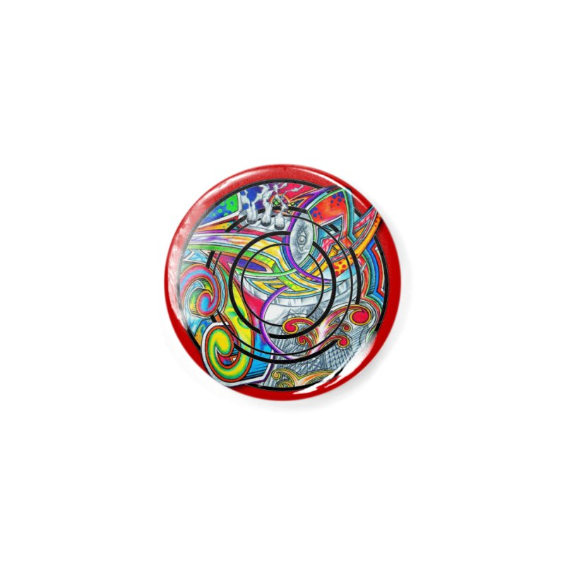 Cyclical Zero Accessories Button by inbrightestday's Artist Shop