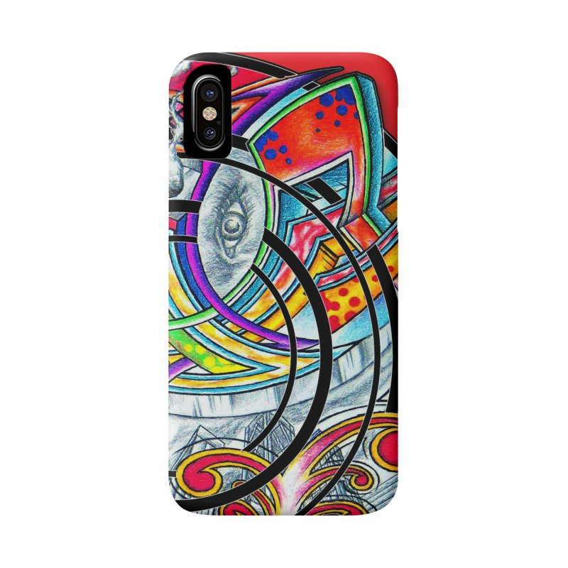 Cyclical Zero Accessories Phone Case by inbrightestday's Artist Shop