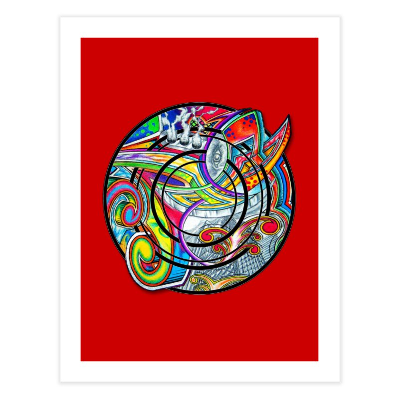 Cyclical Zero Home Fine Art Print by inbrightestday's Artist Shop