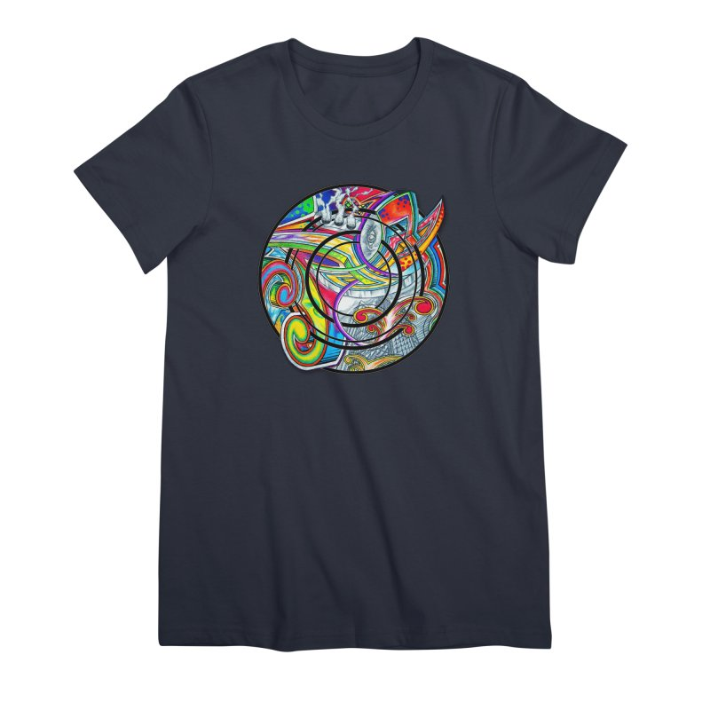 Cyclical Zero Women's Premium T-Shirt by inbrightestday's Artist Shop