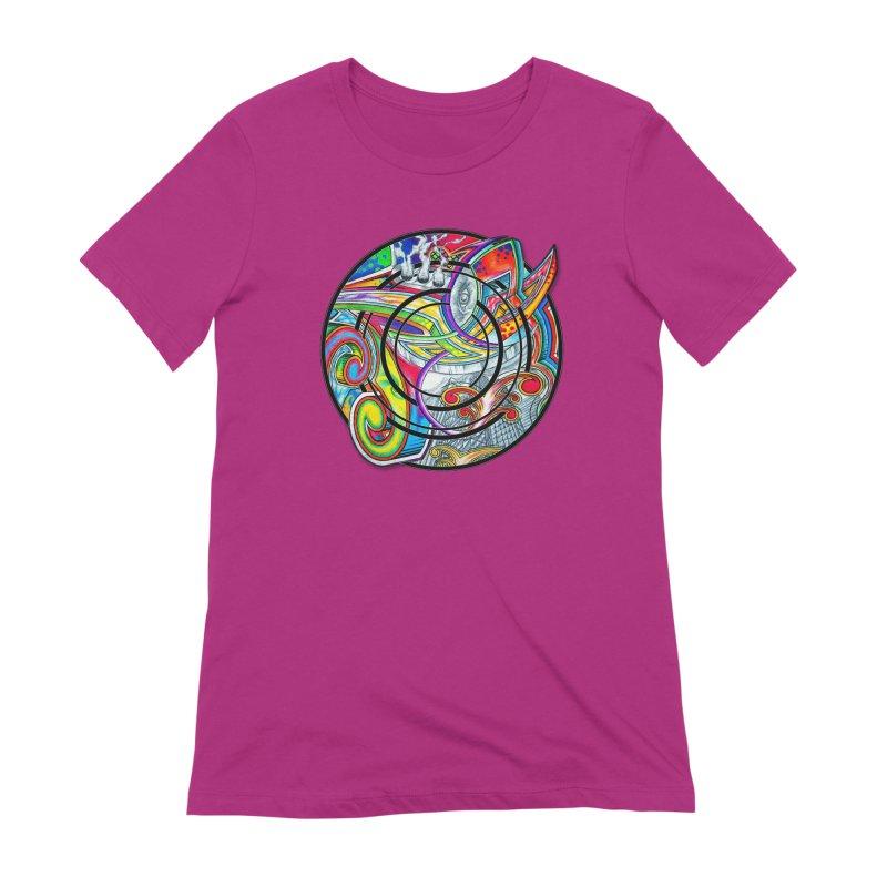 Cyclical Zero Women's Extra Soft T-Shirt by inbrightestday's Artist Shop