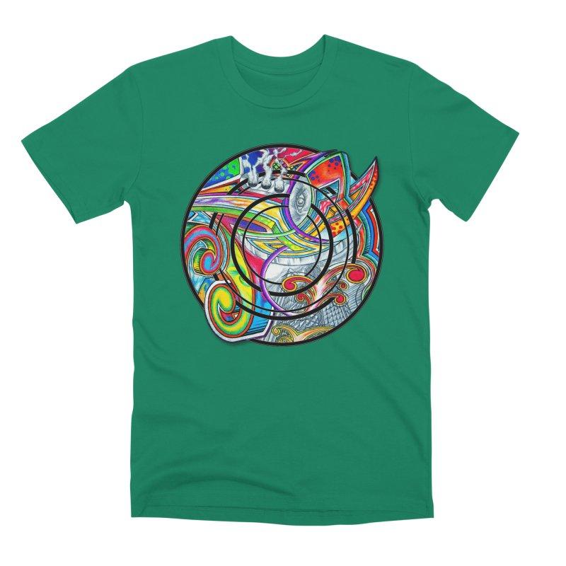Cyclical Zero Men's Premium T-Shirt by inbrightestday's Artist Shop