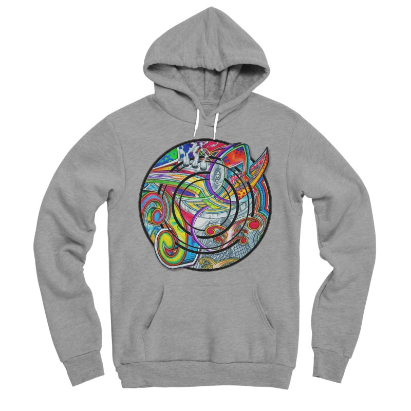 Cyclical Zero Women's Sponge Fleece Pullover Hoody by inbrightestday's Artist Shop