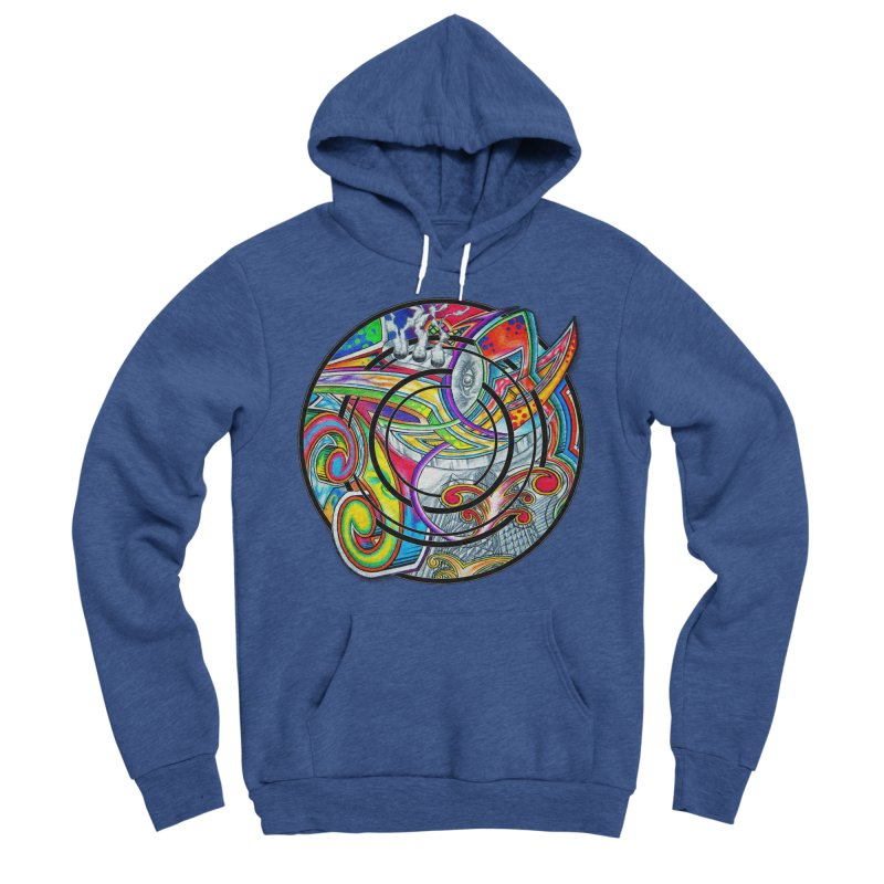 Cyclical Zero Men's Sponge Fleece Pullover Hoody by inbrightestday's Artist Shop