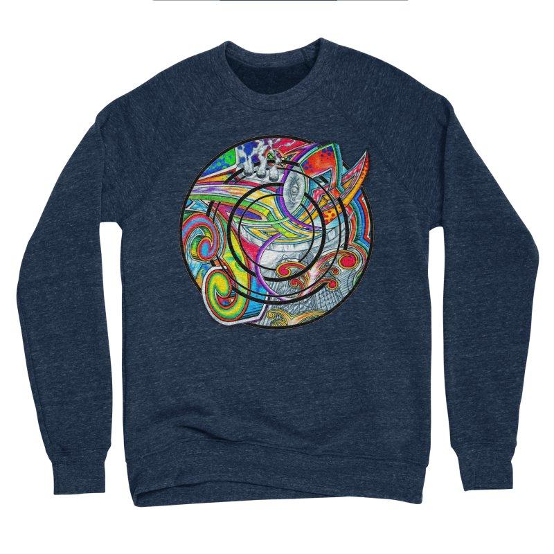 Cyclical Zero Men's Sponge Fleece Sweatshirt by inbrightestday's Artist Shop