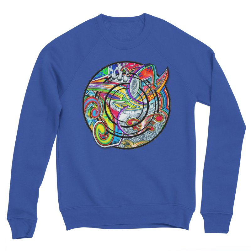 Cyclical Zero Women's Sweatshirt by inbrightestday's Artist Shop