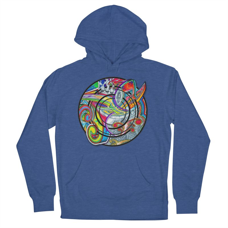 Cyclical Zero Women's French Terry Pullover Hoody by inbrightestday's Artist Shop