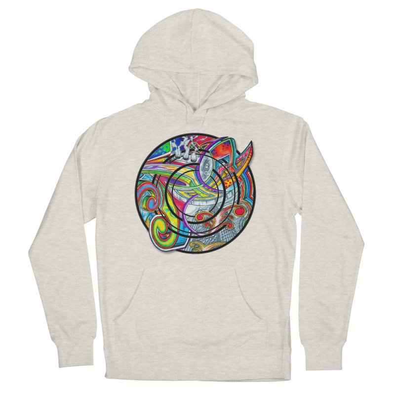 Cyclical Zero Men's French Terry Pullover Hoody by inbrightestday's Artist Shop