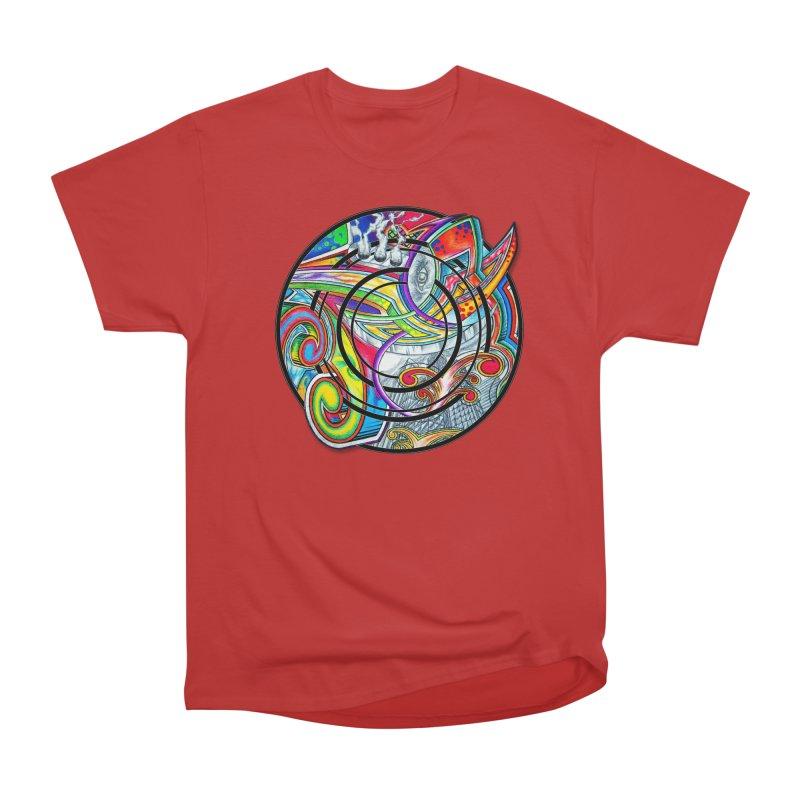 Cyclical Zero Men's Heavyweight T-Shirt by inbrightestday's Artist Shop