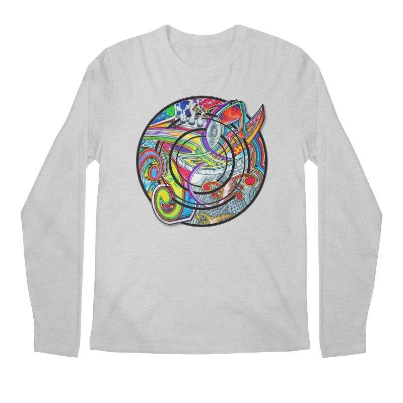 Cyclical Zero Men's Regular Longsleeve T-Shirt by inbrightestday's Artist Shop