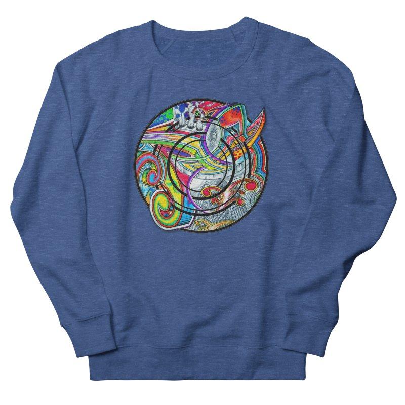 Cyclical Zero Women's French Terry Sweatshirt by inbrightestday's Artist Shop