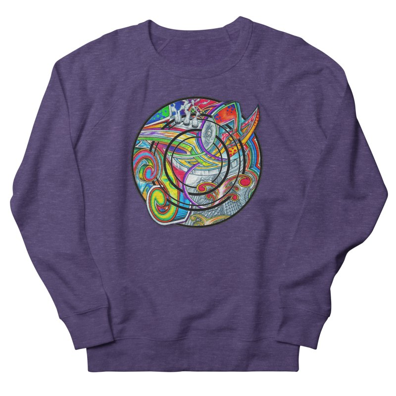 Cyclical Zero Men's French Terry Sweatshirt by inbrightestday's Artist Shop