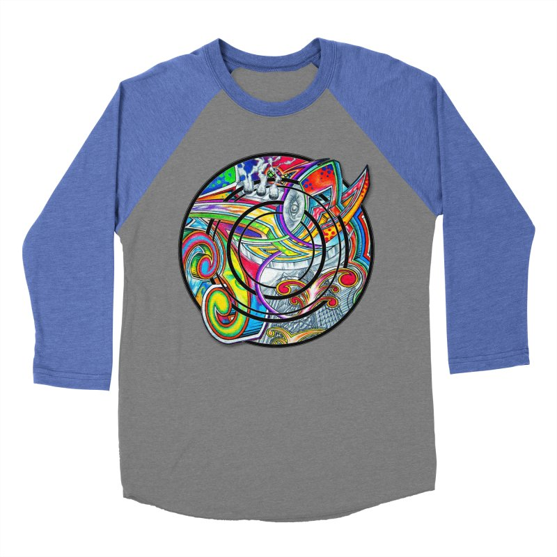 Cyclical Zero Women's Baseball Triblend Longsleeve T-Shirt by inbrightestday's Artist Shop