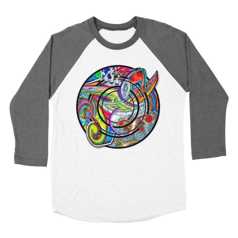 Cyclical Zero Men's Baseball Triblend Longsleeve T-Shirt by inbrightestday's Artist Shop