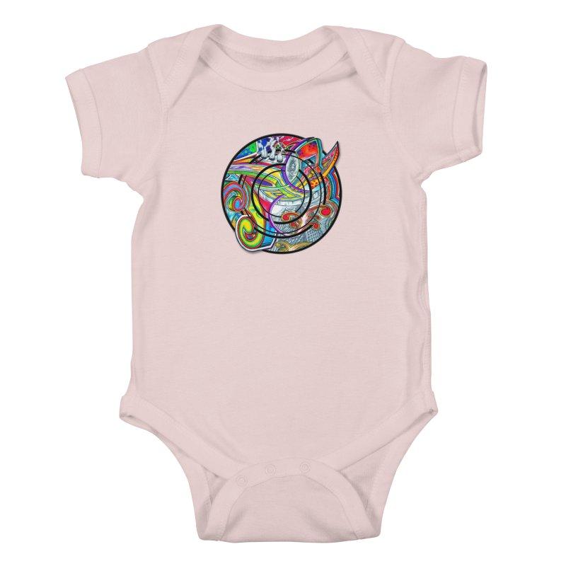 Cyclical Zero Kids Baby Bodysuit by inbrightestday's Artist Shop