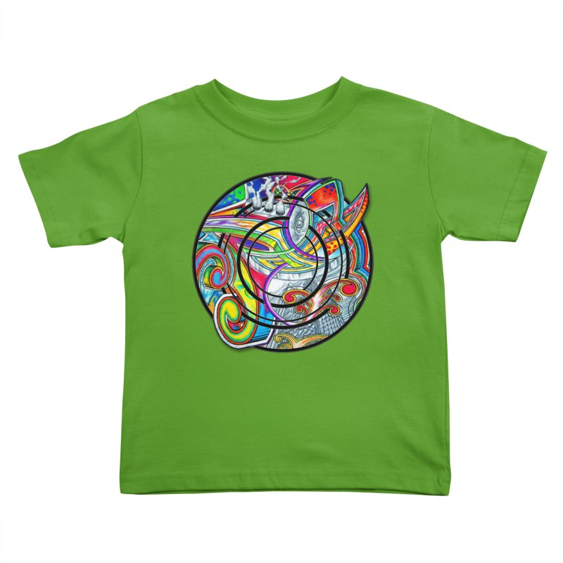 Cyclical Zero Kids Toddler T-Shirt by inbrightestday's Artist Shop